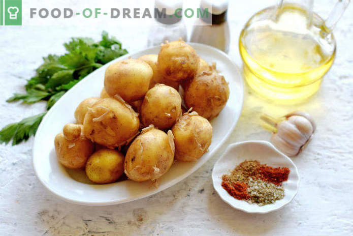 Нови картофи във фурната, рецепта в Селянски