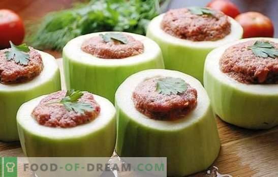 Пълнени тиквички в бавен котлон - всичко е възможно! Рецепти пълнени тиквички в бавен печка: със зеленчуци, зърнени храни, месо