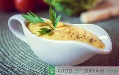 Sos de salată de Caesar la domiciliu - atingerea finală! Retete clasice pentru salata de salata de la Caesar la domiciliu