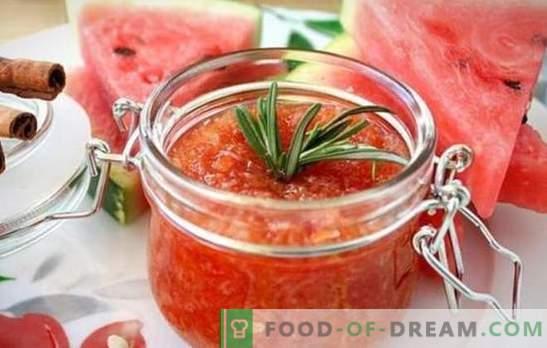Gem de pepene galben pentru iarnă - este dedicat întregului dulce dulce! Recoltarea gemului gustos și parfumat din pulpa de pepene verde și cruste