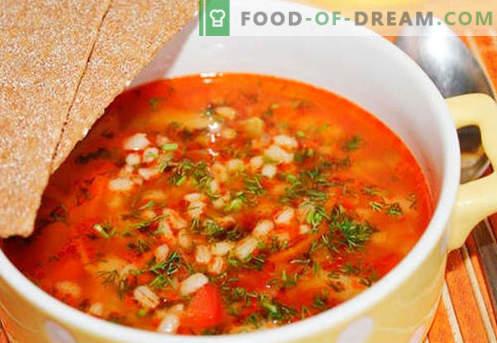 Ечемик туршия - най-добрите рецепти. Как правилно и вкусно да се готви туршия с ечемик.