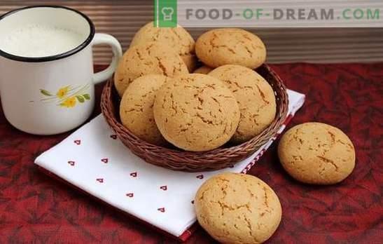 Бисквитите от овесена каша са полезно домашно приготвено. Рецепти за бисквити с овесена каша с мед, джинджифил, канела, портокалова кора