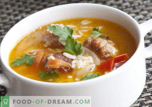 Супи с ориз - най-добрите рецепти. Как правилно и вкусно да се готви супа с ориз.