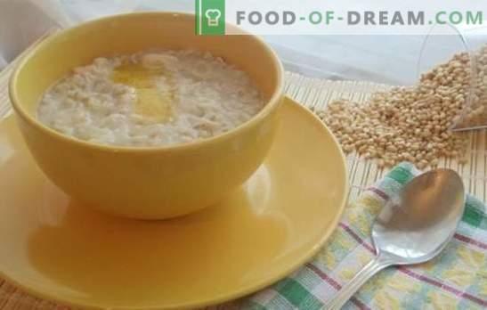 Пшеницата в мултикукър е в основата на здравословната диета. Най-добрите рецепти за пшеница каша в глинен съд за вода и мляко