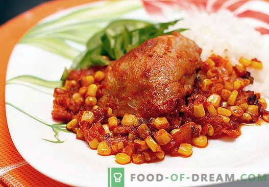Мексикански пиле - най-добрите рецепти. Как правилно и вкусно да се готви мексиканското пиле.