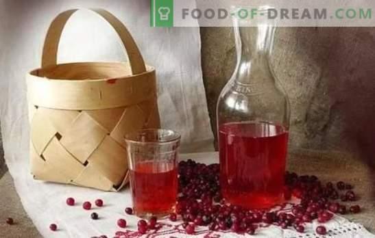 Тинктура от брусници у дома: тайни за готвене. Домашен вкусен ликьор от брусниче на водка, алкохол, коняк