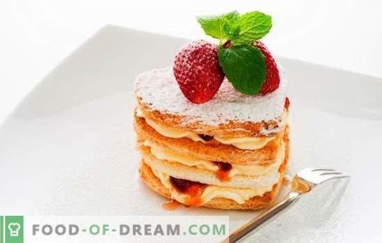 Десерти без печене - обикновени сладкиши за радост! Рецепти за различни домашни десерти без печене на бисквити, натруфен, плодове, извара