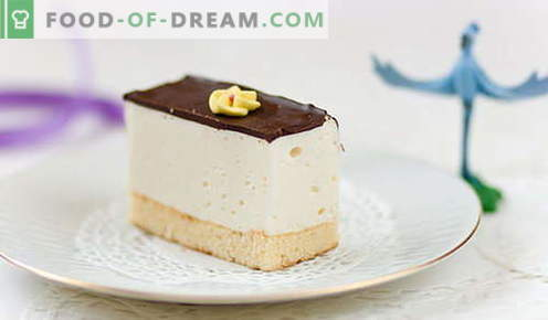 Cake Bird's Milk - най-добрите рецепти. Как правилно и вкусно да се готви у дома тортата на птичи мляко.