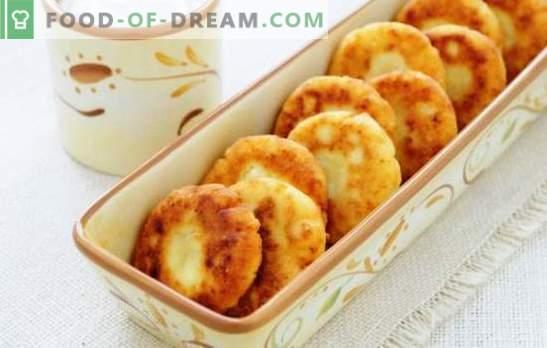 Сирене с ябълки - изварете радост! Рецепти на различни торти от сирене с ябълки за здравословно хранене