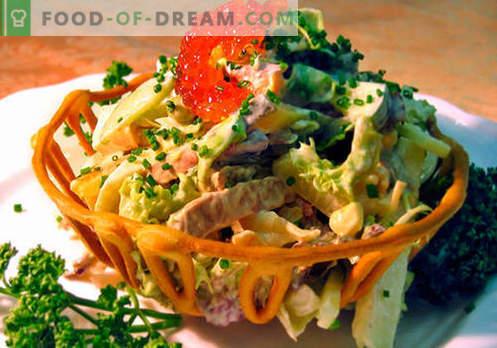 Руска салата - най-добрите рецепти. Как правилно и вкусно да готвя руска салата