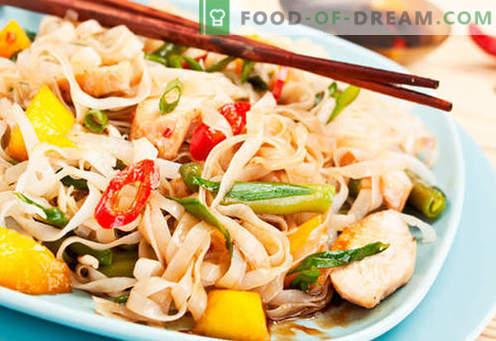 Chiński makaron - najlepsze przepisy. Jak właściwie i smacznie gotować chiński makaron w domu.