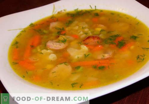 Супи - Доказани Рецепти. Как правилно и вкусно да се готви супа от яхния.