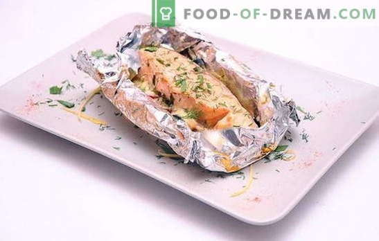 Треска във фолио във фурната е вкусно диетично ястие. Как да готвя треска във фолио във фурната, за да спечели възхищението на домакинството?