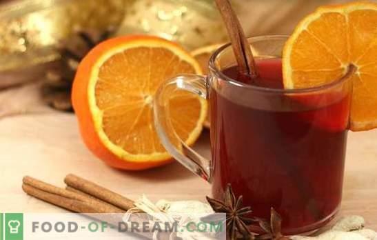 Готвене с портокал - най-зимната, ароматна и затопляща напитка! Готвене на цялото греяно вино с портокали