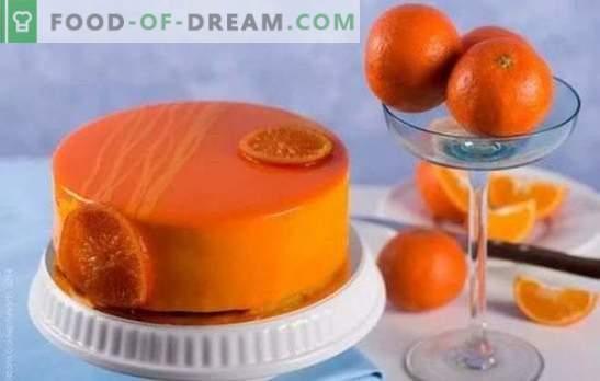 Готвене с удоволствие: шоколадово-портокалов торта. Рецепти за прости и сложни оранжеви сладкиши с и без шоколад