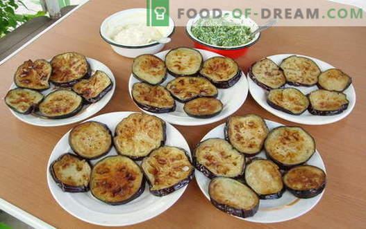 Пържени патладжани - най-добрите рецепти. Как да правилно и вкусно готви пържен патладжан.