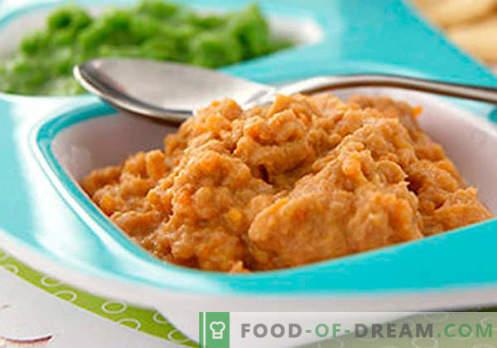 Puree z mięsa - najlepsze przepisy. Jak prawidłowo i smacznie gotować puree z mięsa.