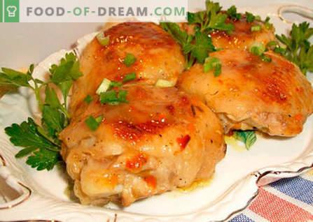 Пилето в тенджера под налягане - най-добрите рецепти. Как правилно и вкусно да се готви пиле в тенджера под налягане.