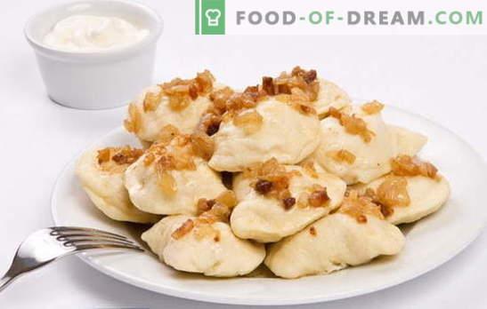Кнедли със сурови картофи - по-добри, по-малко шумни. Рецепти от кнедли със сурови картофи и бекон, смляни