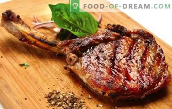Свинска кост - рецепти за най-вкусно месо. Как да готвя свинско на кост в пещта, в глинен съд и на печката