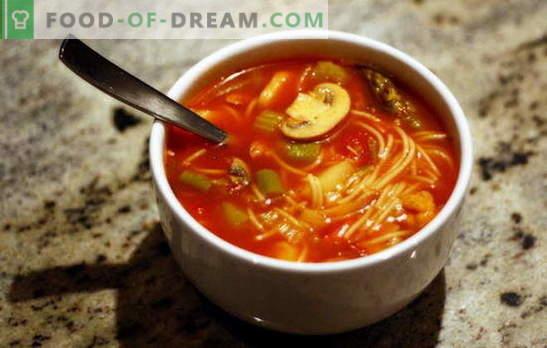 Пълнителни супи: пилотаж на вкус с лекота на приготвяне. Рецепти за пълнене на супи с различни зърнени храни и зеленчуци