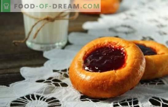 Сирене с сладко - вкусно просто! Най-добрите рецепти за чийзкейк с конфитюр от дрожди, люспи, заквасена сметана, тесто от маслено тесто