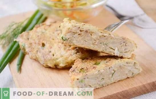Консервирани рибни котлети: ястие в бързаме, изненадващо с изискан вкус. Авторска поетапна фото-рецепта от консервирани рибни котлети
