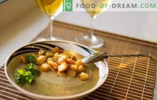 Супи от черния дроб - първите славянски ястия. Рецепти на чернодробни супи с домати, макаронени изделия, грах, гъби, просо, боб