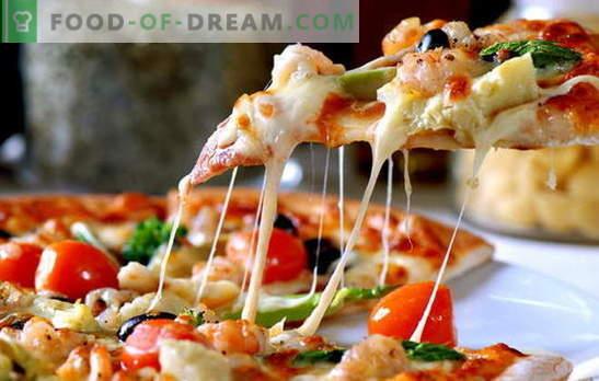 Italijos picos receptas yra maža kelionė ieškant tiesos. Eksperimentai pizzayolov italų pica receptas