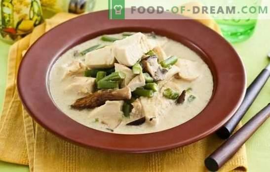 Fricassee в кремав сос е просто френско готвене. Варианти за готвене на фриказе в кремав сос с гъби, зеленчуци и сирене
