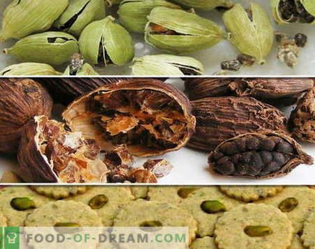 Кардамон - описание, свойства, използване при готвене. Рецепти с кардамон.