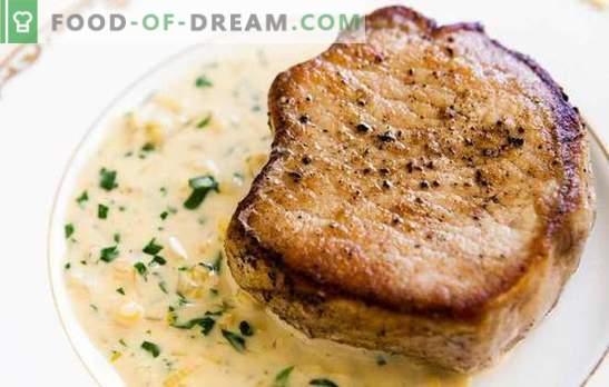 Свинско в горчичен сос - вкусно, светло, незабравимо. Колко вкусно и лесно се готви свинско в горчичен сос