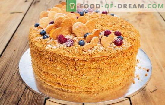 Обикновена торта на кефир: рецепти за печене за всеки вкус. Домашна технология за приготвяне на прости торти за кефир