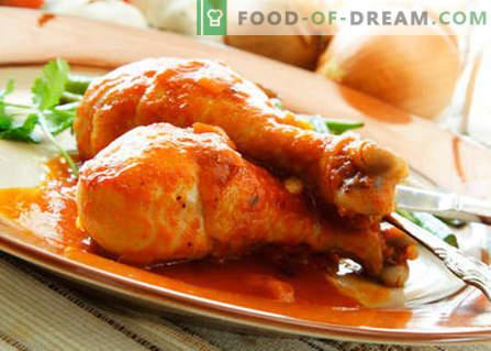 Пиле с мед - най-добрите рецепти. Как правилно и вкусно да се готви пиле с мед