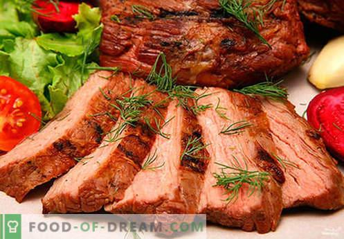 Свинска шунка - най-добрите рецепти. Как да правилно и вкусно готви свинска шунка у дома.