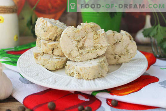 Натурално домашно пилешко месо - много проста рецепта