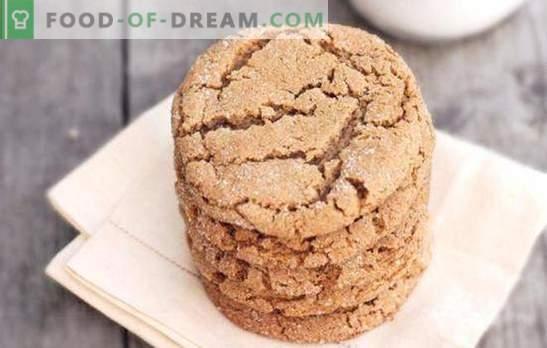Бисквити с овесени ядки с мед е ароматно домашно тесто. Подбор на най-добрите рецепти за овесени бисквити с мед и добавяне на други съставки