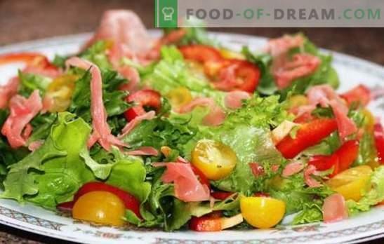 Коренът на гурме: най-добрите рецепти за джинджифилови салати. Правила за приготвяне на салати с маринован джинджифил