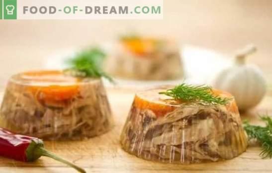Пълнител на пиле (стъпка по стъпка): гостите са възхитени. Стъпка по стъпка рецепти от желета пиле със зеленчуци, плодове и гъби