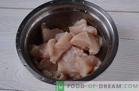 Панирано пиле, мариновано в соев сос - гответе 20 минути! Стъпка по стъпка фото-рецепта от панирано пилешко филе с ориенталски вкус