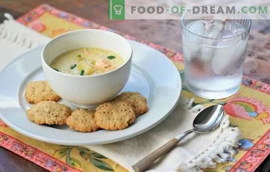 Рибна супа със сметана - алтернатива на ухото. Най-добрите рецепти за рибена супа със сметана от сьомга, скумрия, поллок, пъстърва и розова сьомга