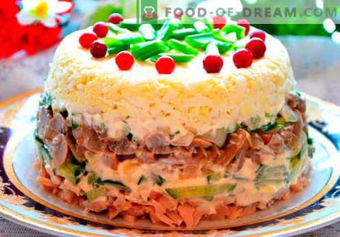 Ястия на новогодишната маса - най-добрите рецепти. Как да направим Новогодишната вечеря наистина празнична.