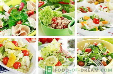Диетични салати - най-добрите рецепти. Как да се приготвя правилно и вкусно диета.