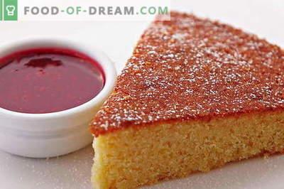 Mannik - 10 poprawnych przepisów. Jak właściwie i smacznie gotować mannica: wszystkie sekrety bujnego ciasta