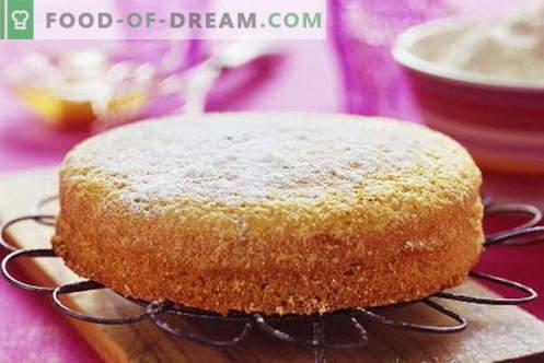 Mannik - 10 правилни рецепти. Как правилно и вкусно да готви манница: всички тайни на буйна торта
