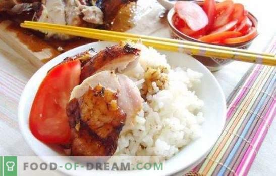 Маринада за пиле със соев сос: нежно месо с ориенталски вкус. Рецепта за пилешка марината със соев сос и мед, кисело мляко, кефир