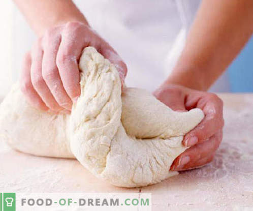 Тесто за сирене - най-добрите рецепти. Как правилно и вкусно да готвя тестото от извара.