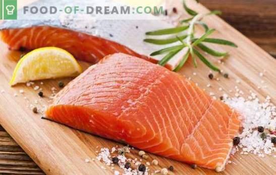 Пушена сьомга е ароматна червена риба! Готвене на пушена сьомга у дома, рецепти на интересни ястия