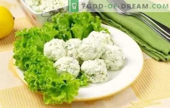 Закуска от сирене - вкусна и здравословна! Рецепти за различни леки закуски със зеленчуци, сирене, раци, авокадо и шоколад
