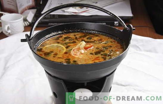 Тайландска супа - екзотика в кухнята. Рецепти за тайландска супа с говеждо, риба, пиле, морски дарове, зеленчуци и гъби